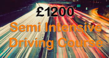 £1050 Semi Intensive Driving Course 30 hours